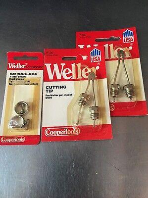 Weller 2 6130 Soldering Gun Tip For Weller Model D550 2collars 47414