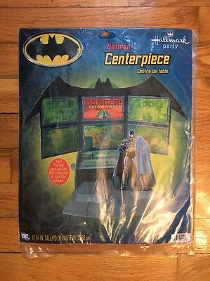 BATMAN Birthday Party Centerpiece - Supplies Villain Alert 12 3/4 Inches Tall - Batman Centerpieces