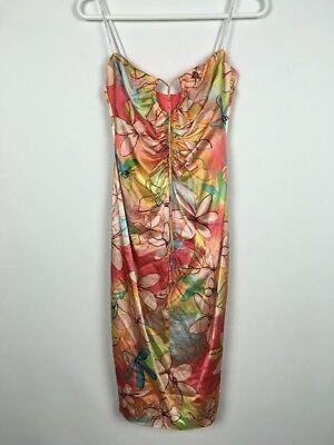 David Meister Womens Flora Form Fit Slip Dress Size 2 B0016 David Womens Slip