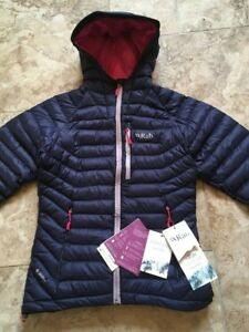 Rab Microlight Alpine Jacket Size 10 Women's Insulated Jacket
