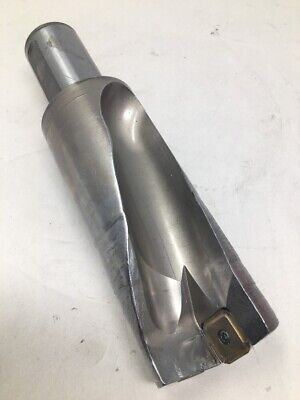 Seco 2 38 2.375 Indexable Insert Drill Coolant Thru Sd502-2375-475-1500r7