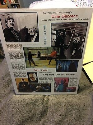 Star Wars Signed Nick Maley That Yoda Guy Inside Stories From A Creature Builder