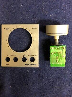 Cassettendeck Grundig CF7500 Record-Regler mit Knopf und Alu-Blende online kaufen
