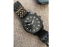 Rotary Submariner 100m (GB00135/04) Black Chronograph Watch Stainless Steel