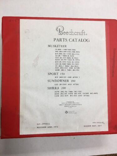 Muskateer  19,.23 & 24 Models Series Original Illustrated Parts Catalog