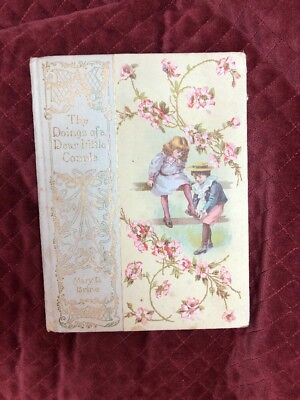 The Doings of a Dear Little Couple Antique Children's Book - Mary Brine - 1900 (Little Kid Couple)
