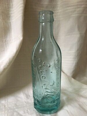 Vintage Geo. Ritter Water Soda Bottle  Cedarburg Wisconsin Victoria Springs