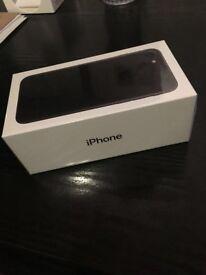I phone 7..32g.jet black.brand new.