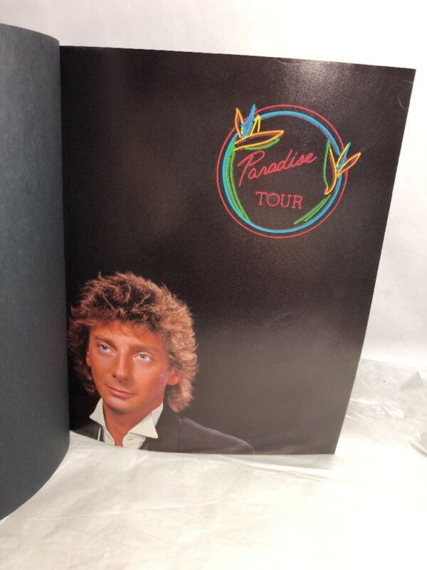 Barry Manilow Concert Program Book 1984 Paradise Tour
