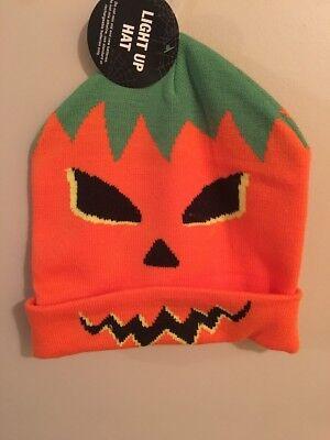 Halloween Costume Hat Taboggan Light-up Pumpkin Jack O' - Halloween Pumpkins Costumes