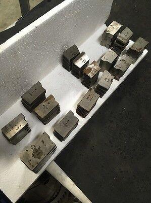 Murchey 1-14 Die Head Threading Lot 15 Sets Turret Metal Lathe Machinist Tool