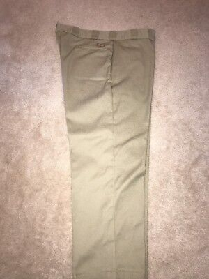 Euc Dickies Khaki Work Pants 46 X 30 Style Number W741271