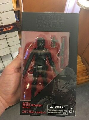 Hasbro Death Trooper Star Wars The Black Series 6-Inch Action Figure