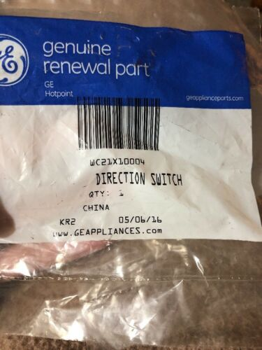 GE Trash Compactor Direction Switch WC21X10004 Genuine OEM
