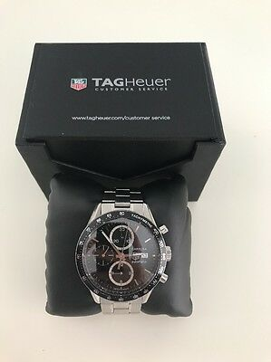 Tag Heuer Carrera Calibre 16 Automatic Men's Chronograph CV2010 Watch