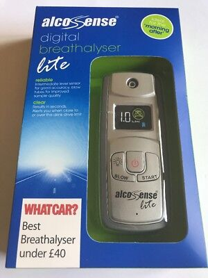 Alcosense Lite Digital Alcohol Breathalyser