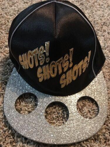 Gag Gift Bachelorette 21st Birthday  Hat -Shots Shot glass H