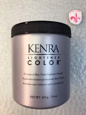KENRA Lightener Color PERMANENT Blue Violet Lightener POWDER 16oz
