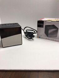 Sony ICF-C1T Desktop Alarm Clock AM FM Radio Black Automatic Set Up -