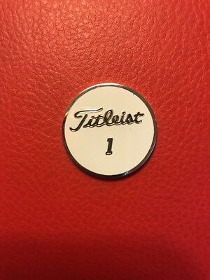 Brand New Titleist Pro V1 Collection Ball Marker - Very Limited - 2 Sided Heavy (Marker Collection)