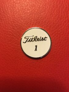 Brand New Titleist Pro V1 Collection Ball Marker - Very Limited - 2 Sided Heavy