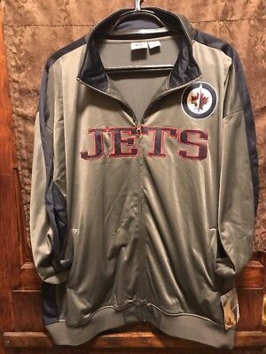 Winnipeg Jets Hockey   Mens 4Xl   New With Tags   Nhl Com Track Style Jacket