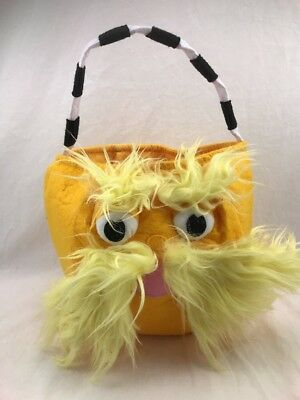 New Pottery Barn Kids Dr Seuss Lorax Halloween Treat Bag - Lorax Halloween Costumes
