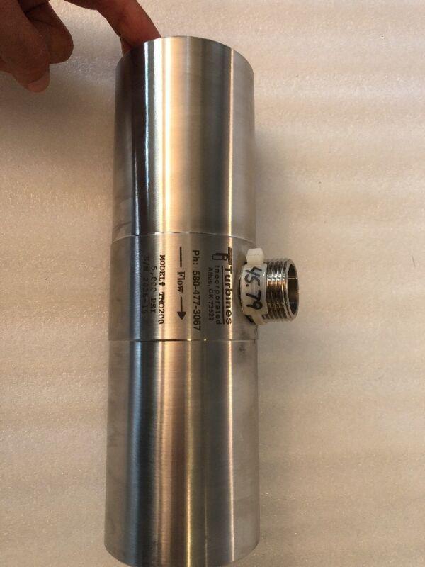 New Turbines Inc Flow Meter TM0200