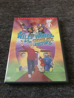 Willy Wonka And The Chocolate Factory Dvd Used Gene (Willy Wonka And The Chocolate Factory Gene Wilder)