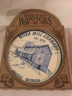- Nora Mill Granary PORCELAIN BUN & BREAD WARMER Est. 1876 1999 NIB
