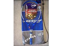 Dunlop tennis racket tour season