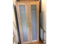Ikea quality Maple Wood wardrobe Nursery Toddler Child Kids Teenager Student Bedroom Landlord Rental
