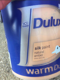 New - unopened Dulux Paint