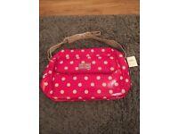 Cath Kidston Pink Spot Baby Bag