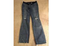 Ladies Skinny Maternity Jeans Size 8