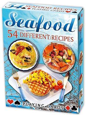 Seafood Recipes set of 52 playing cards (ix)