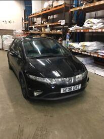 Honda Civic 1.8 i-VTEC Full 12 months MOT, No advisory