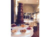 Chocolate Fountain & Photo booth Available for Hire!