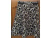 Hobbs A line Skirt Size 10