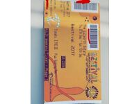 Bestival Adult Weekend Camping Ticket X 3