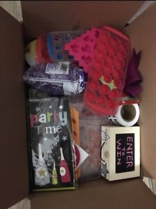 Huge Box of Scentsy Business Goodies