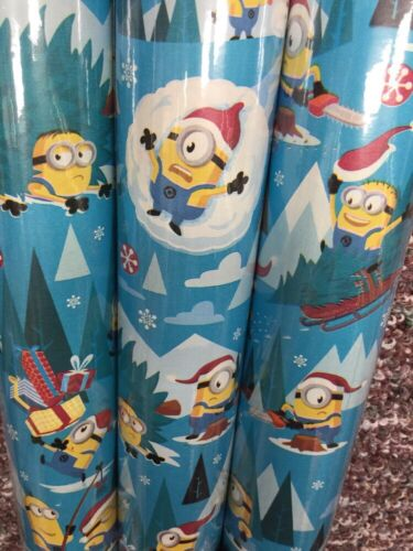 40 sqft Minion Dave Kevin Wrapping Paper Christmas Birthday