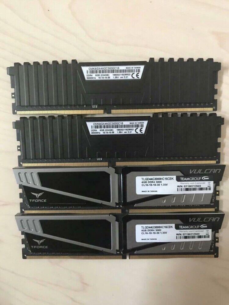 4x4gb DDR4 3000mhz RAM sticks | in Bishops Stortford, Hertfordshire |  Gumtree