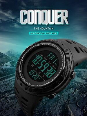 Conquer the Mountain Watch - Multi-functional Men Sports Watch,