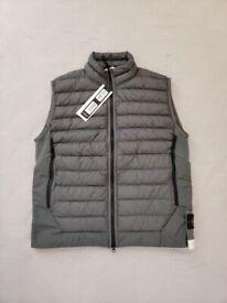 FREE POST - Stone island gilet puffer jacket