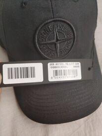 FREE POST - stone island cap - hat