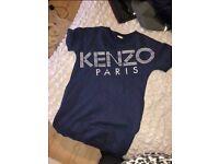Girls Kenzo jumper dress age 16