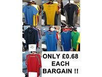 149 New Mens & Womens Sports T-Shirts Tops Stock Clearance, Job Lot, Wholesale Ebay Sellers, Markets