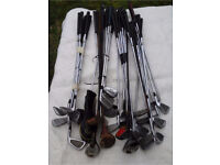 70+ Golf Clubs, Trolley, 80 Golf balls and Bag For Sale!