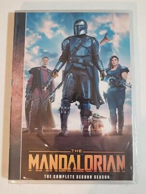The Mandalorian Season 2 (DVD 2-Disc) - Brand New - FREE SHIPPING